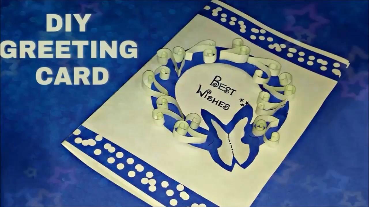 Easy Handmade Birthday card || DIY Greeting card || Cute Gift Card ideas