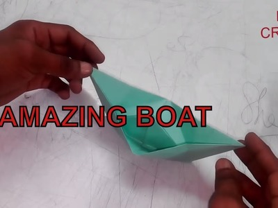 How To Make a Amazing  Boat With Diy Papers Teutorial