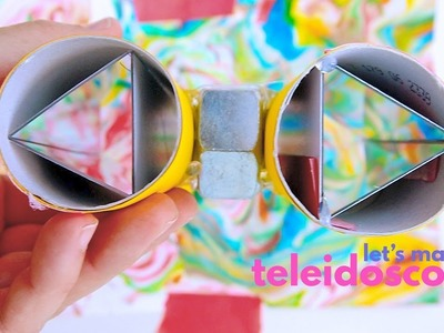 How to Make a Teleidoscope (a type of DIY Kaleidoscope)
