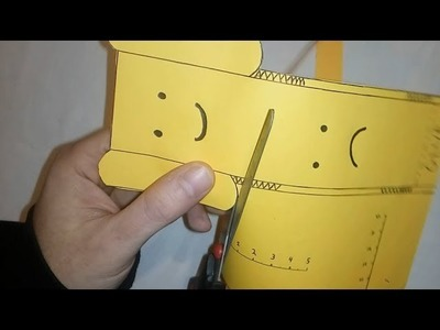 How to make a tumbling toy. DIY  Paper Emoticon Physics Toy