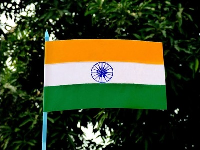 How to make Indian Flag.