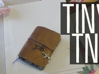 Little Mini Traveler's Notebook | DIY | SUGAR