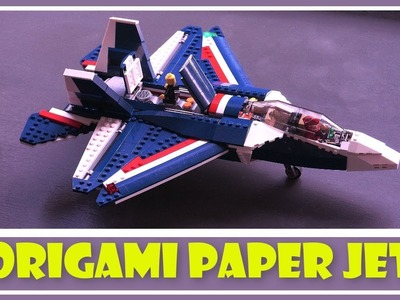 Origami Paper Jet - How To Make an Origami Paper Jet - How To Make a Paper Airplane (Very Easy)