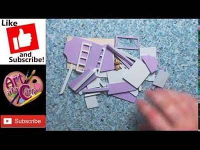 Putting together a Flever Dollhouse Miniature DIY House Kit Creative Room With Furniture Part 1