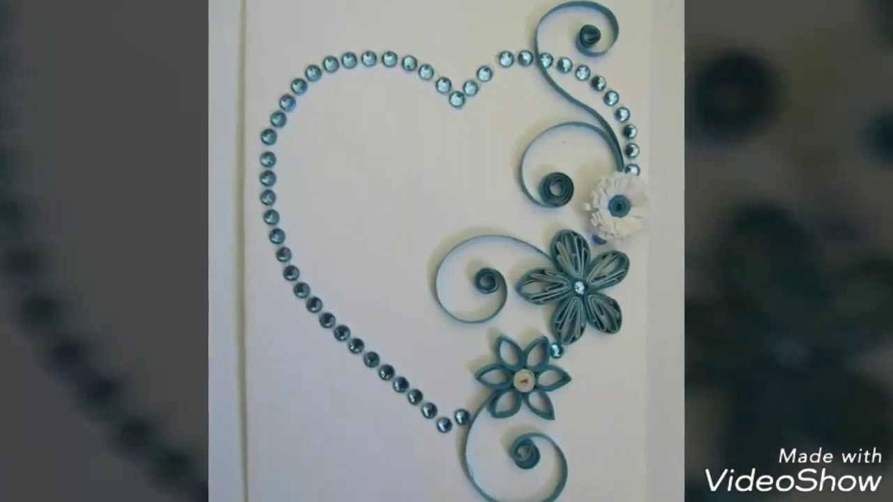 Quilling Gift Ideas Valentines Paper Quilling Diy