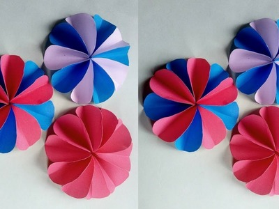 Simple and easy paper flower tutorial:10