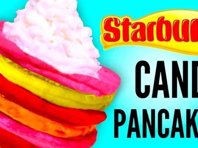 STARBURST PANCAKES - How To Make Candy Pancakes DIY