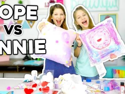 Valentine's Day DIY Challenge! Hope Marie vs Annie Rose