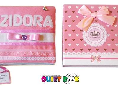 43. Quiet book for Izidora - Activity Song Book handmade by Petra Radic, My Felting Dreams