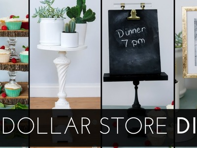 5 Dollar Store and Thrift DIYS - Thrifty DIY home decor