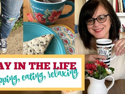 A DAY IN THE LIFE | Walmart Shopping plus recipe and DIY
