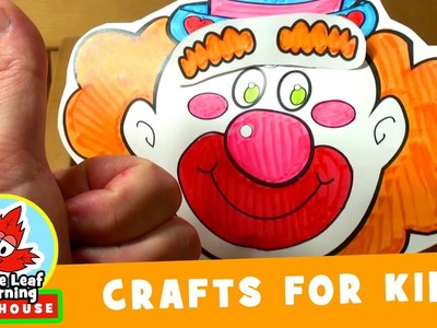 Clown Craft for Kids | Maple Leaf Learning Playhouse