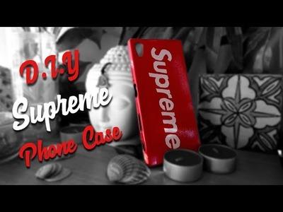 D.I.Y SUPREME PHONE CASE
