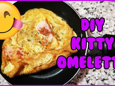 DIY Breakfast Omelette for Cats! How to Make a Homemade Breakfast Omelette for Your Cat!