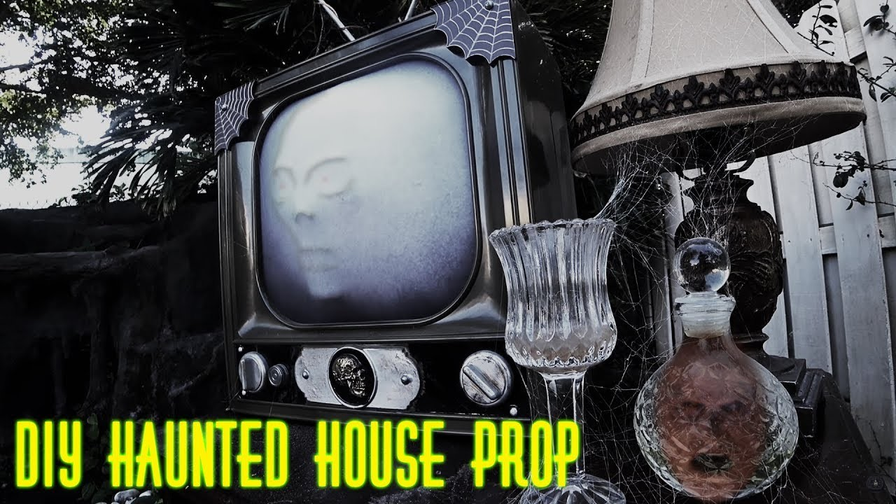 diy haunted house prop tower of terror themed. Black Bedroom Furniture Sets. Home Design Ideas