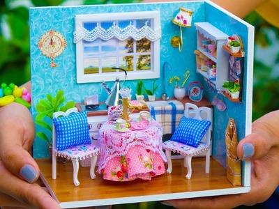 DIY Miniature Doll House Kitchen Cooking Kit