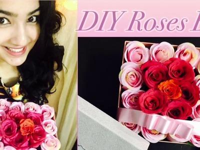 DIY Roses Gift Box | Roses in a Box