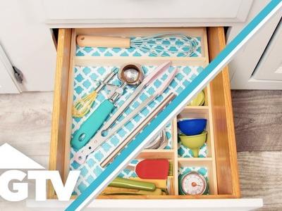 DIY Utensil Drawer Organizer - HGTV