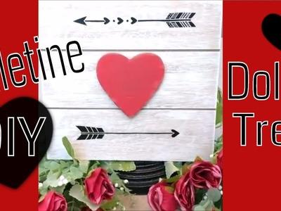 Dollar Tree Valentine Decor DIY