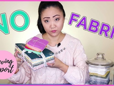 #FABRICCHALLENGE2018 | No Buying Fabric for a Year | #SEWCHEAP | SEWING REPORT