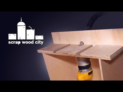 How to make a DIY router table