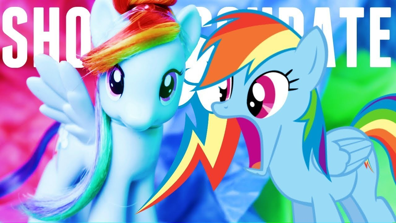 How To Make a Show Accurate RAINBOW DASH Brushable Toy!