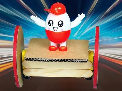 How to make Amazing Self Balancing robot with DC motor DIY robot