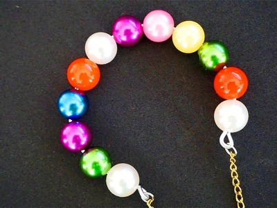 How to make bracelets with beads and string | Bracelet. Friendship bracelets | Bracelet Making
