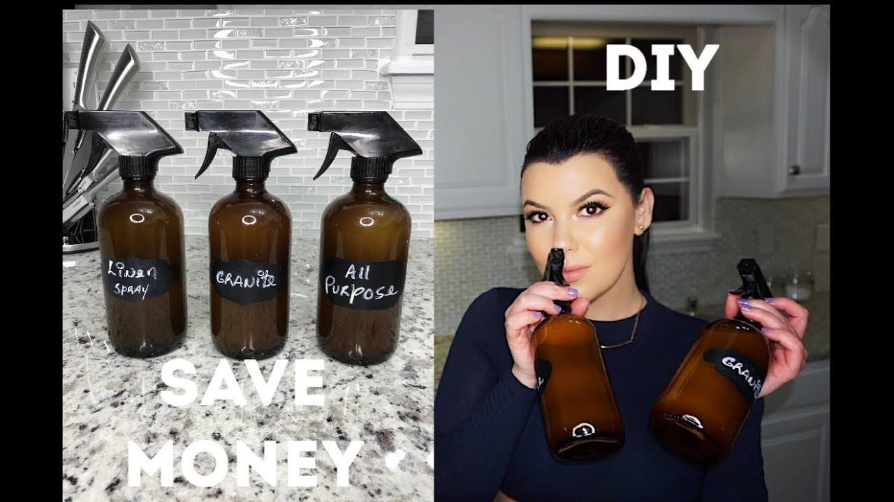 HOW TO MAKE YOUR OWN CLEANING PRODUCTS. DIY Using Essential Oils