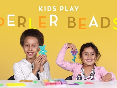 Kids Play Perler Beads | Kids Play | HiHo Kids