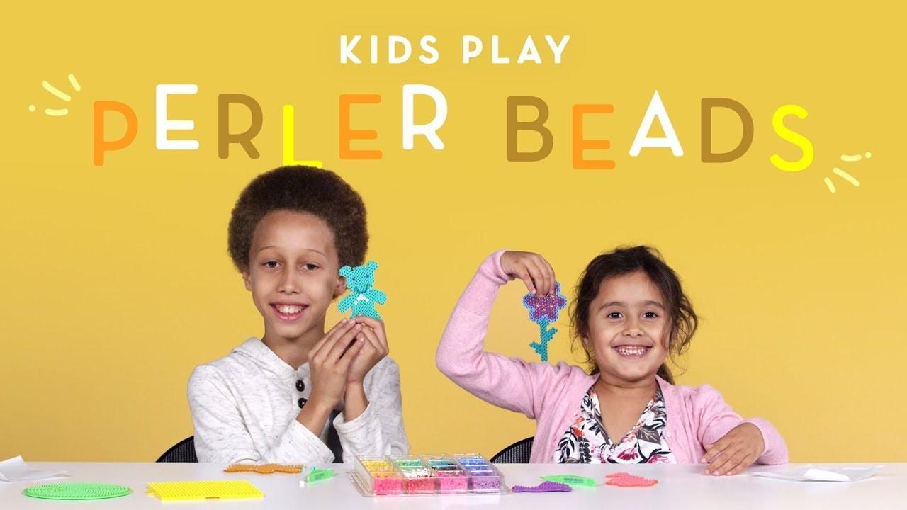 Kids Play Perler Beads | Kids Play | HiHo Kids