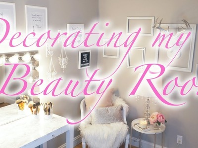 LUXE FOR LESS! Decorating my Beauty Room on a Budget: DIY's & Hacks