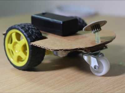 Make movable car toy without RC controller - Handmade