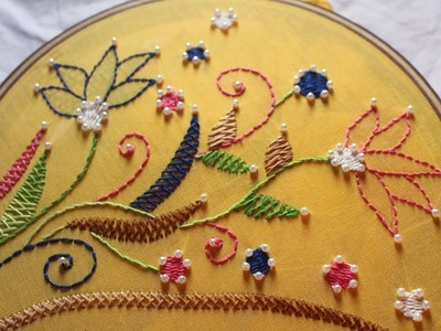 Neck design and bead work