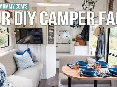 Our DIY Camper FAQs & My Renovation Show Appearance! | The DIY Mommy