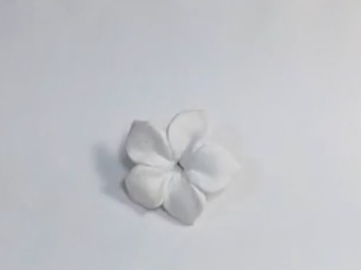 Polymer clay flower all by hand