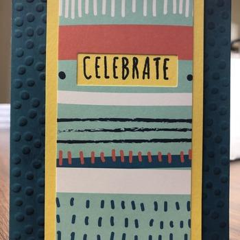 """Celebrate"" Party Stripes (FebPP)"