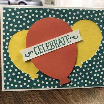 """Celebrate"" 2Yellow/1Orange LARGE Balloons"