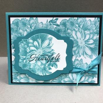 """""""Sympathy"""" Bermuda Heartfelt Blooms (Heartfelt)"""