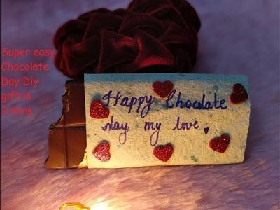 Best DIY Gift under 2 mins | Valentines Chocolate Day Gift DIY | C.A.N