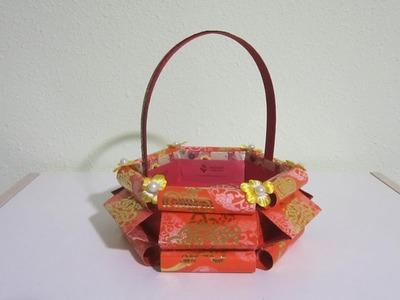 CNY TUTORIAL NO. 73 -  Hongbao Candy Basket No. 2