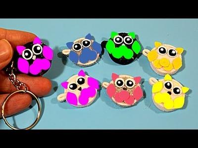 Cute DIY Keychains ???? School Bag TRINKETS