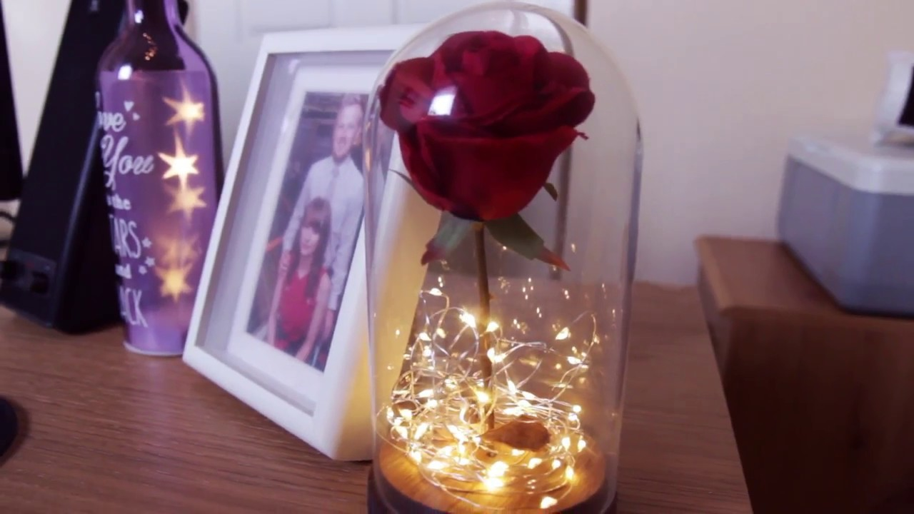 Diy Enchanted Rose Decor Beauty And The Beast