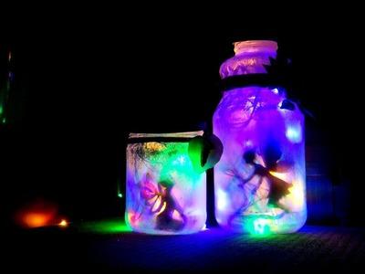 DIY Fairy In Glowing Jar