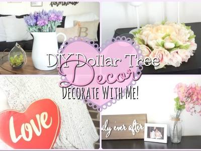 Dollar Tree DIY Farmhouse Themed.Valentines Day Decor I Decorate With Me!