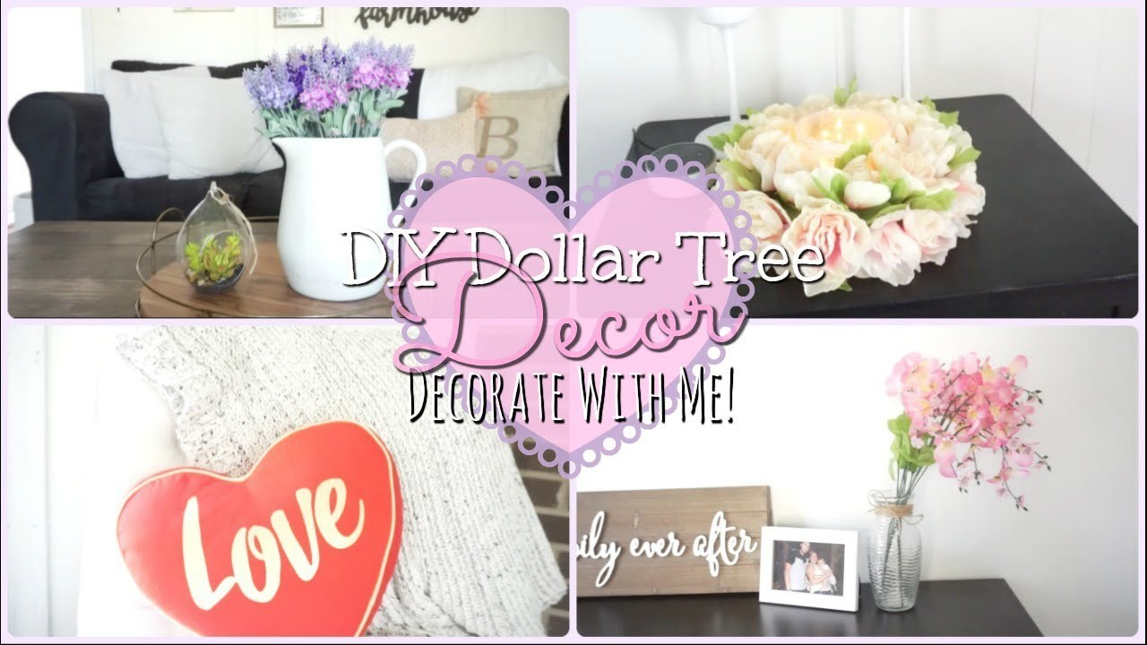 Dollar Tree Diy Farmhouse Themed Valentines Day Decor I Decorate