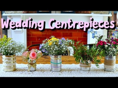 Easy DIY wedding flowers on a budget
