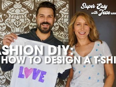 Fashion DIY: How to Design a Graphic T-Shirt