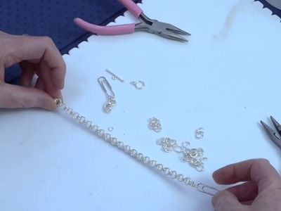 How to Make a Chainmaille Bracelet - Quick & Easy Jewellery Tutorial