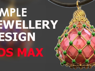 How To Make A Jewellery Item - 3ds max tutorial